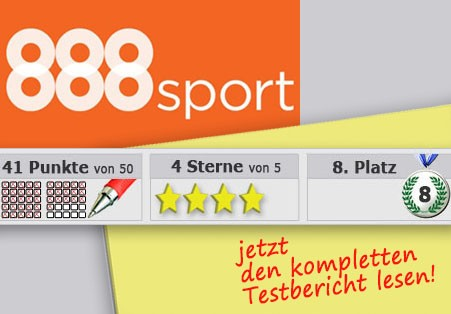 Wettanbieter 888 Startseite