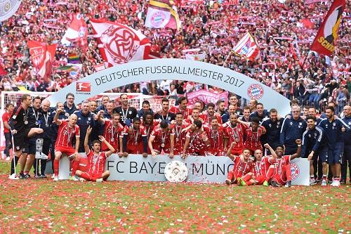 Bayern Meister 2017