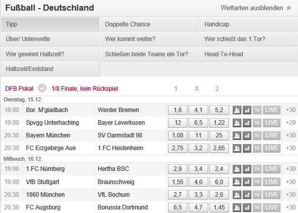 DFB-Pokal-Tipico-Wetten