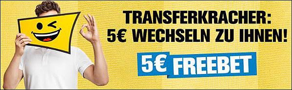 Screenshot zu Interwetten 5 Euro Gratiswette Bundesliga
