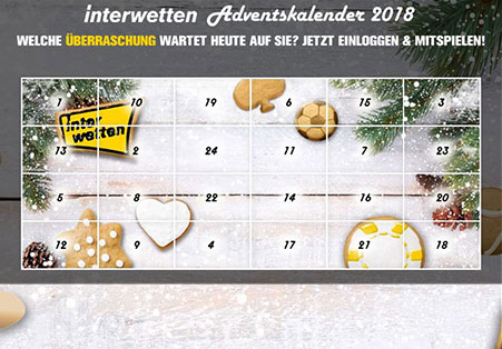 Interwetten Adventkalender