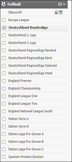 Interwetten Fußballwetten Auswahl auf wettanbieter.de