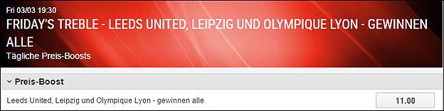 Ladbrokes-Preis-Boost-Leipzig
