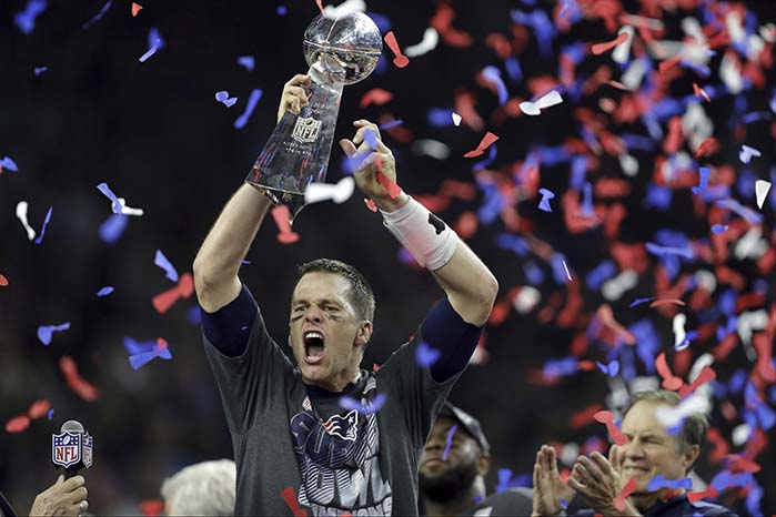 Tom Brady (© Darron Cummings / AP / picturedesk.com)