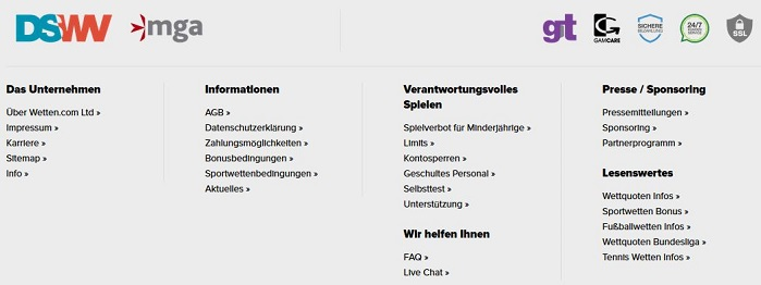 Wetten.com Seriosität