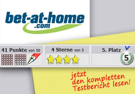 Wettanbieter Bet-at-home Startseite
