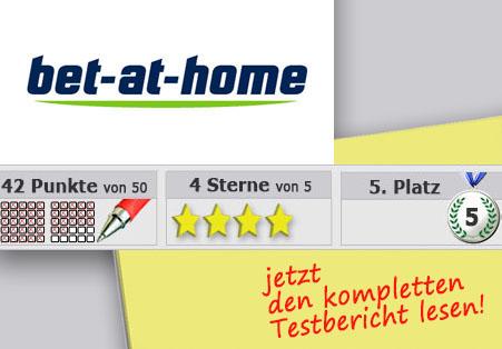 Wettanbieter Bet-at-home Startseite