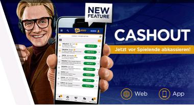 Bet3000 Sportwetten Cash Out
