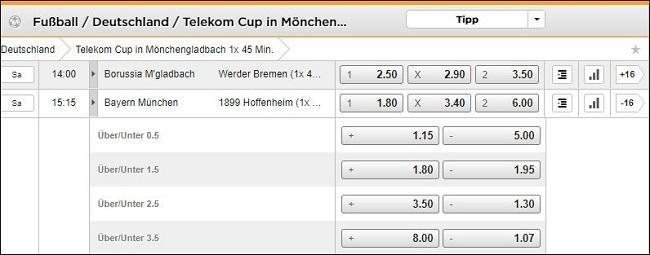 Bet3000 Telekom Cup