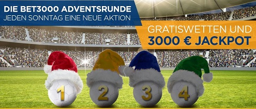 Bet3000 Adventsrunde