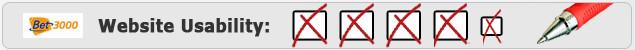Bet3000 Benutzerfreundlichkeit Testbericht