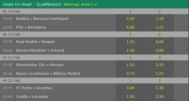 bet365-cl-achtelfinale-2017-head-to-head