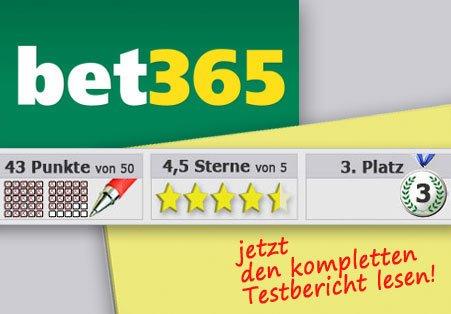 Wettanbieter Bet365 Startseite