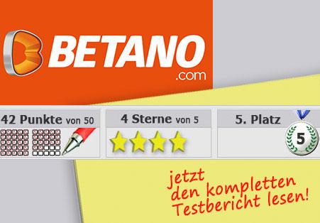 Wettanbieter Betano Startseite