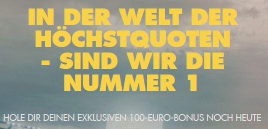 Bethard Bonus exklusiv 100 Euro