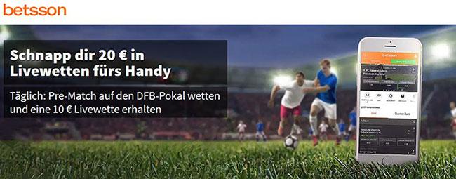 DFB Pokal Freiwette Betsson
