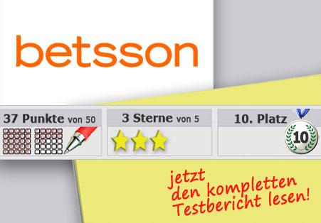 Wettanbieter Betsson Startseite