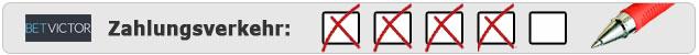 Wettkonto Einzahlungen und Auszahlungen bei Betvictor - Testergebnis von Wettanbieter.de