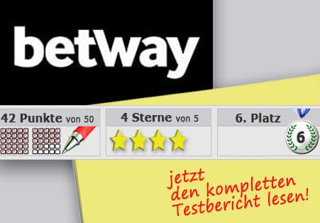 Wettanbieter Betway Startseite