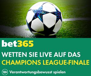 das Champions League Finale bei Bet365