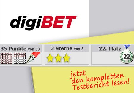 Wettanbieter Digibet Startseite