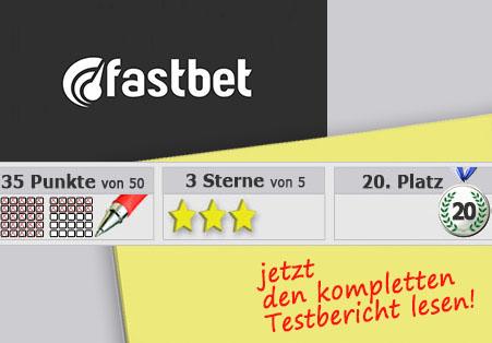 Wettanbieter Fastbet Startseite