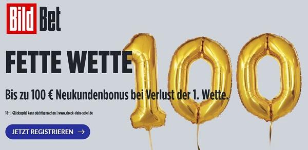 Bildbet Bonus 100€