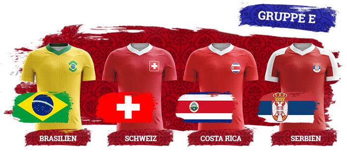 WM 2018 Wetten Gruppe E