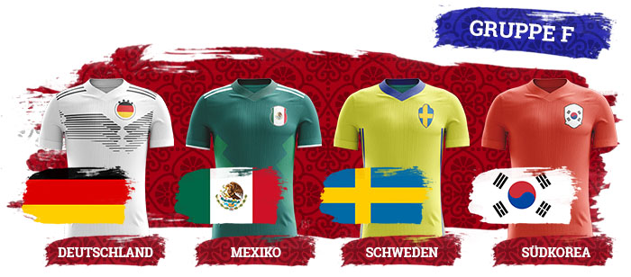 WM 2018 Wetten Gruppe F