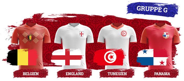 WM 2018 Wetten Gruppe G
