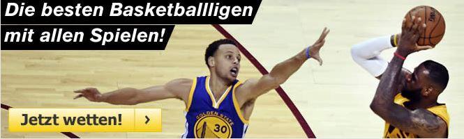 Basketballwetten im Interwetten Wettangebot