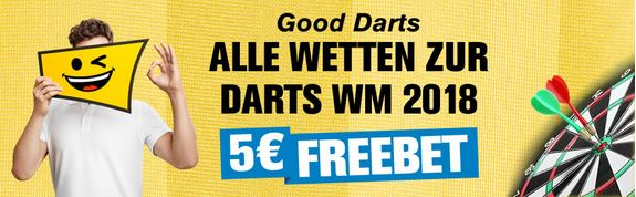 Wetten auf den Darts Weltmeister 2018 bei Interwetten
