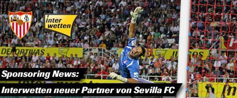 Interwetten beim Fußballverein FC Sevilla