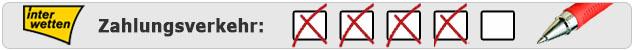 Wettkonto Einzahlungen und Auszahlungen bei Interwetten - Testergebnis von Wettanbieter.de