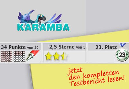 Wettanbieter Karamba Startseite