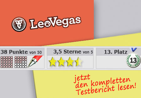 Wettanbieter LeoVegas Startseite