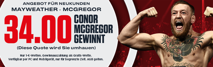Mayweather Vs Mcgregor Wetten