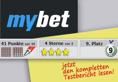 Wettanbieter Mybet Startseite