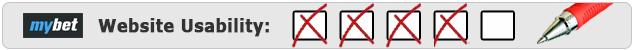 Mybet Usability Bewertung