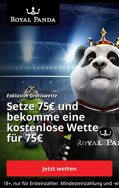 Royal Panda Bonus