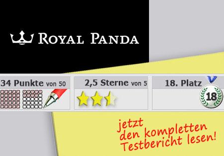 Wettanbieter Royal Panda Startseite