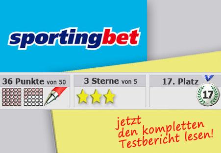 Wettanbieter Sportingbet 17