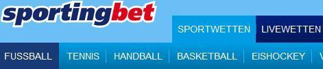 Sportingbet Wettseite Usability