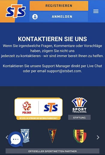 sts kundensupport