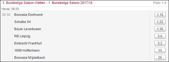 Tipico Bundesliga CL
