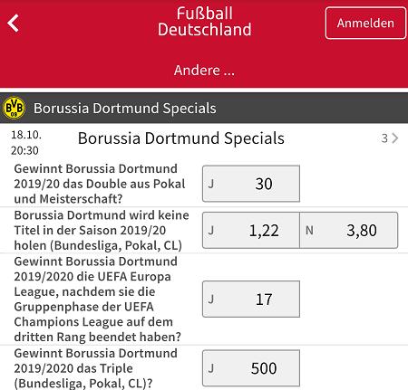 Dortmund Meister Quote