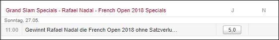 Grand Slam Special Tipico
