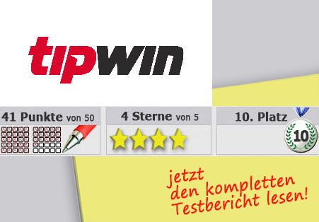 Wettanbieter Tipwin Startseite