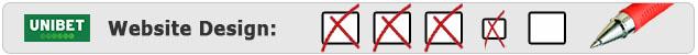 unibet Website Design Bewertung