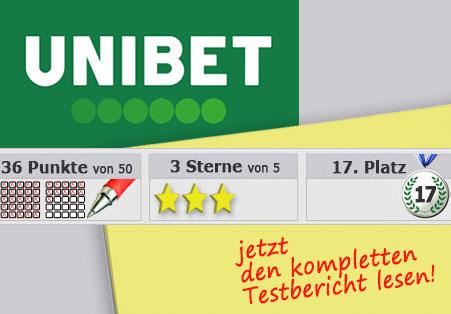 Wettanbieter Unibet Startseite